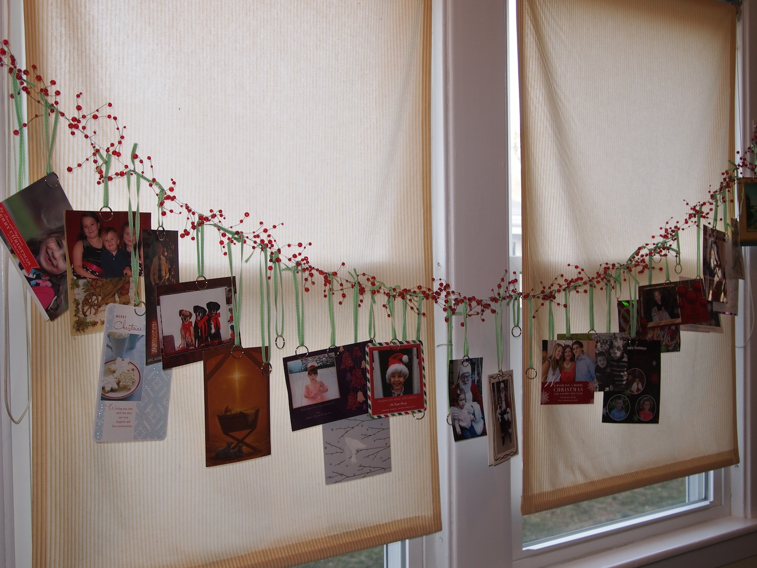 How To Display Christmas Cards - House Beautiful - House Beautiful