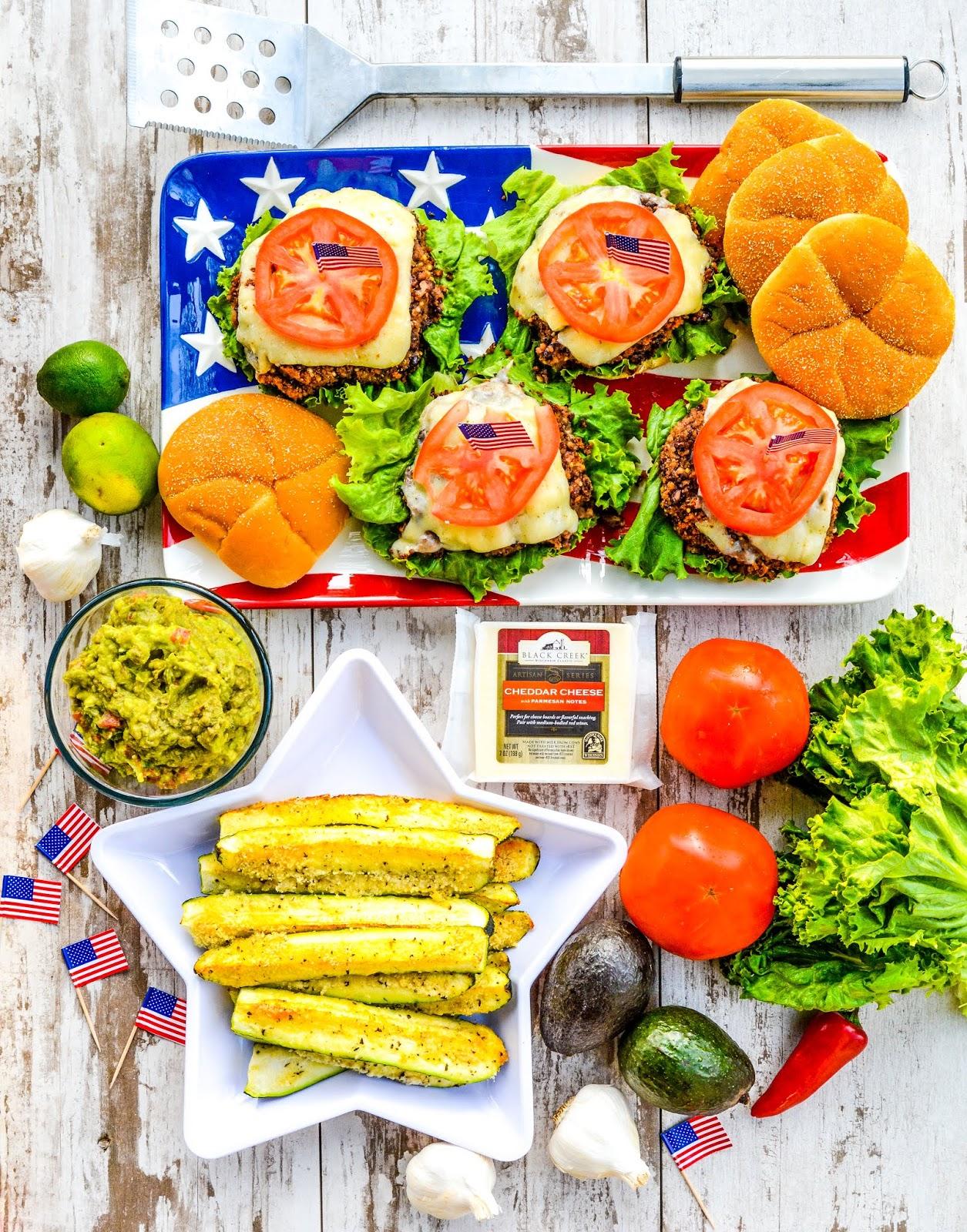 Memorial Day Veggie Burgers