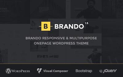 Brando V1.3.1 Responsive and Multipurpose Onpage Wordpress Theme