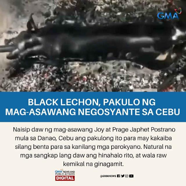 black lechon