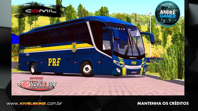 COMIL 1200 4X2 - POLÍCIA RODOVIÁRIA FEDERAL