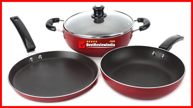 Know here about top 10 best non-stick cookware sets in India at very low and cheap and best prices.