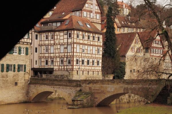 Old Town in Schwäbisch Hall, Germany