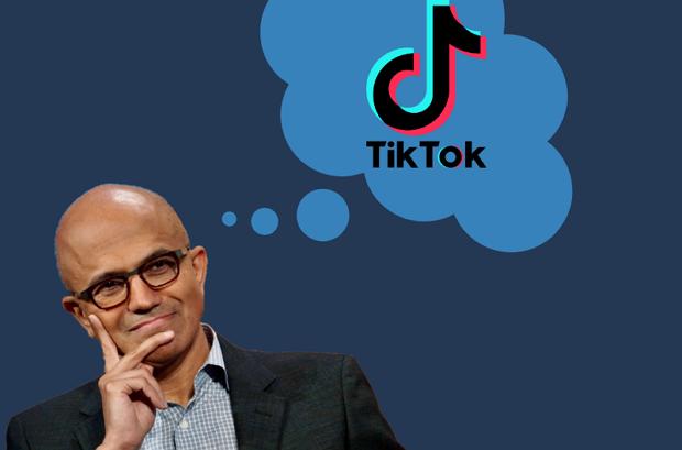 مايكروسوفت تستمر في الضغط لشراء تيك توك بعد محادثة مع دونالد ترامب