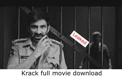 Krack Download Full Movie HD Tamilrockers 480p, 720p