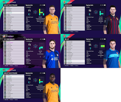 PES 2021 Facepack 6 by Random Facemaker