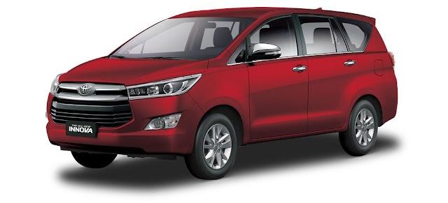 Toyota INNOVA Pricelist as of July 2019!