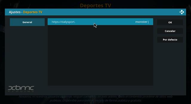 cambiar dominio DAILYSPORT