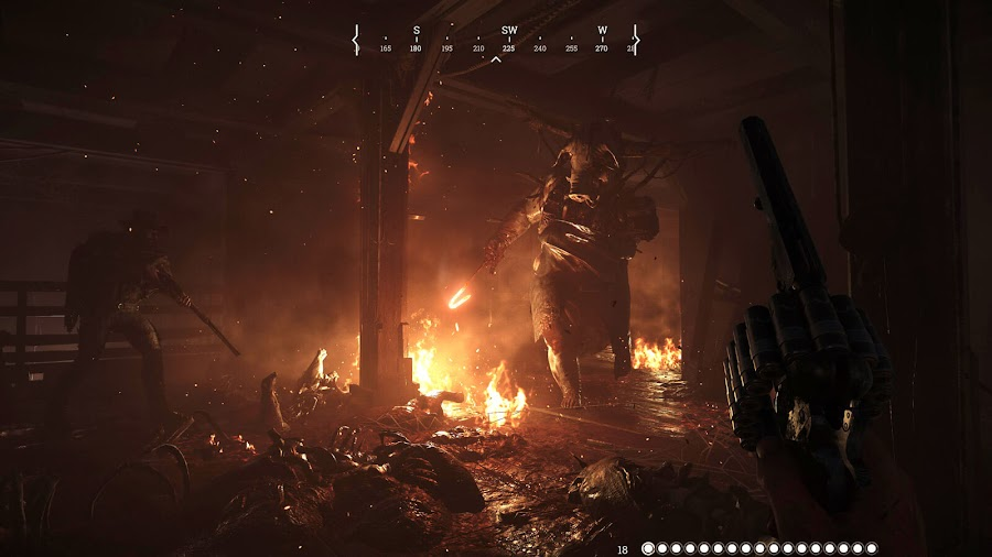 hunt showdown xbox game preview crytek xbox one gameplay boss creatures bounty hunters