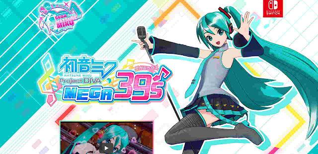 Sega Mengungkapkan Game Hatsune Miku: Project Diva Mega39's Untuk Switch