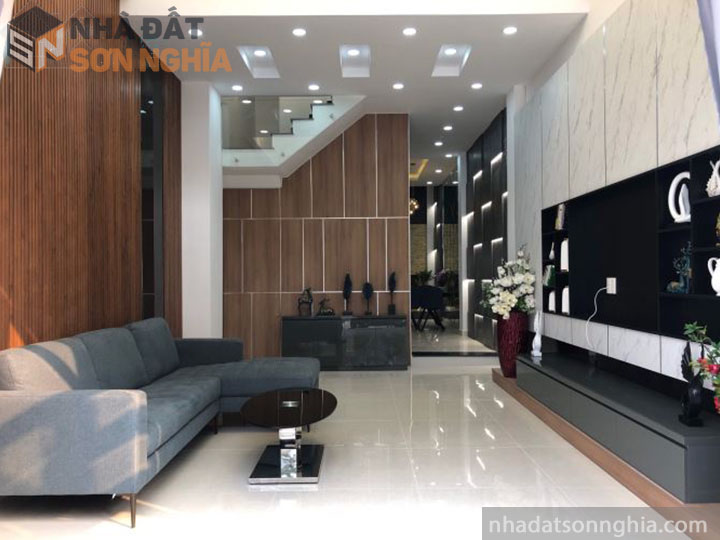 Không gian nhà thiết kế đẹp tại quận Gò Vấp
