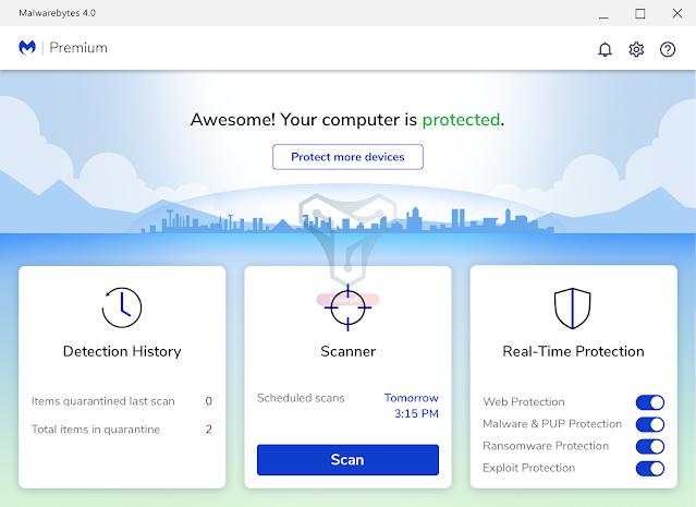 تحميل برنامج Malwarebytes Anti-Malware Premium كامل بالتفعيل للحماية من الفيروسات - Yousry4pc