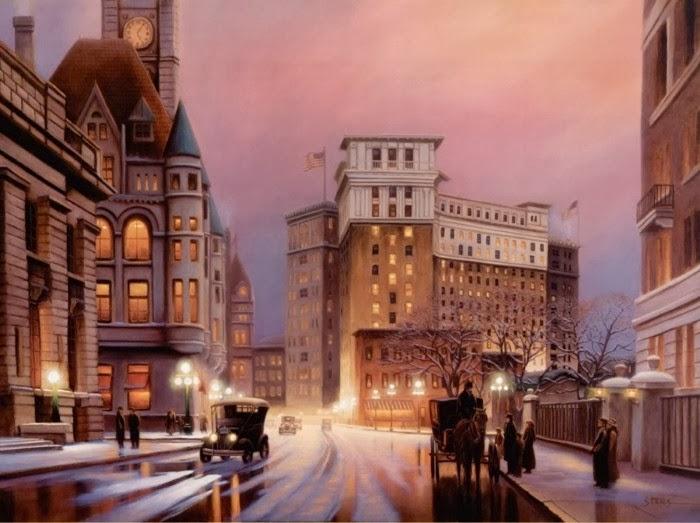 Американский художник-реалист. Leo Stans