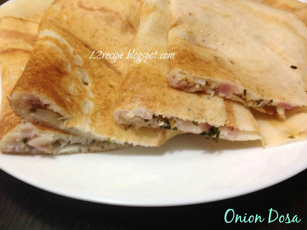 Onion dosa recipe book onion dosa is a popular indian street food it is made with the typical normal dosa batter the crunchy onions gives a nice taste to the dosa and is quick forumfinder Images