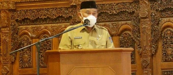 Walikota Ajak Pedagang Pasar Bangkitkan Gerakan Indonesia Raya Bergema