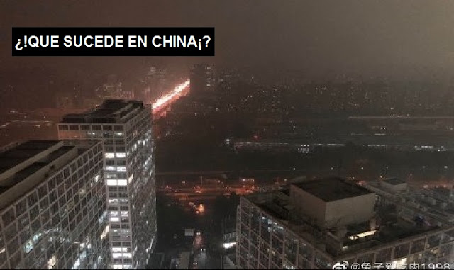 VIDEOS   El día se convierte en oscuridad(noche) en China como escenas apocalípticas