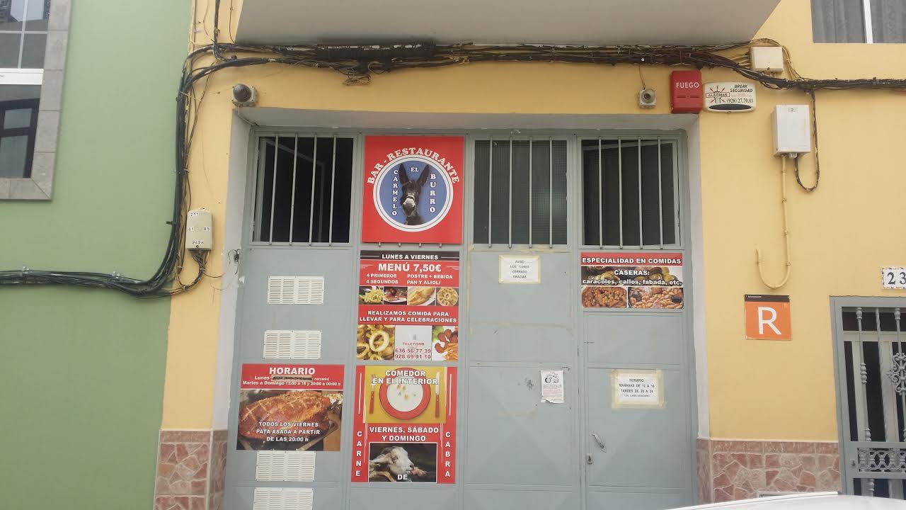 Telde Habla: BAR RESTAURANTE CASA CARMELO ( EL BURRO )