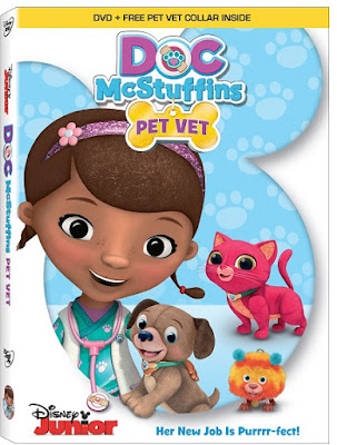 Doc McStuffins Pet Vet 2016 DVD R4 NTSC Latino