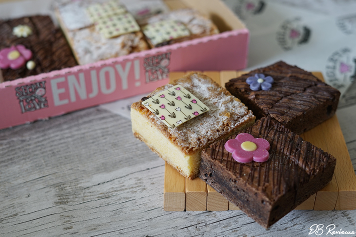 Floral Brownie Selection Box from Piglet's Pantry