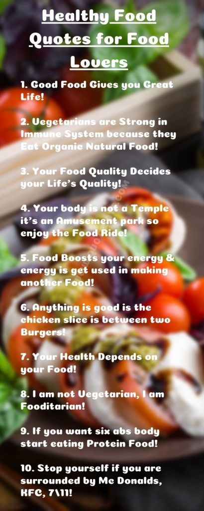 Healthy Food Quotes, Quotes About Food, Good Food Quotes