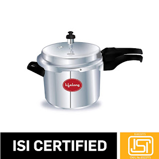 Lifelong Outer Lid Pressure Cooker, 3 Litre (ISI Certified, Induction and Gas Compatible) - Online Trade DD