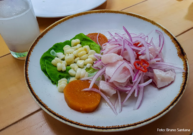 Restaurante Amoramar, em Barranco, Lima, Peru