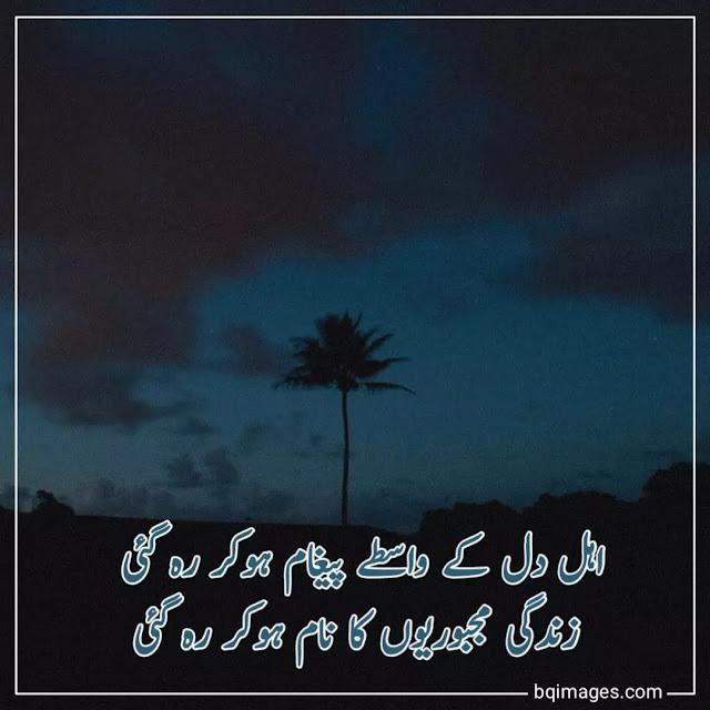 latest urdu shayari dp