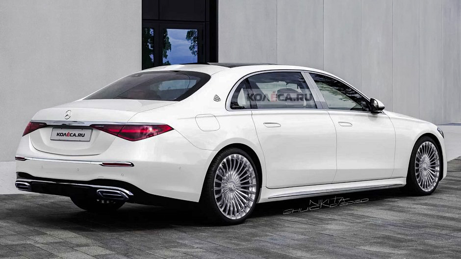 2022 The new Mercedes-Maybach S-Class appears in digital form