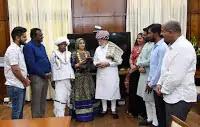 Geeta Rabari Meet PM Modi