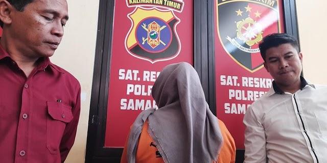 Pengunjung Mal di Samarinda Geger Gara - Gara Istri Tikam Suami Karena Mengangur
