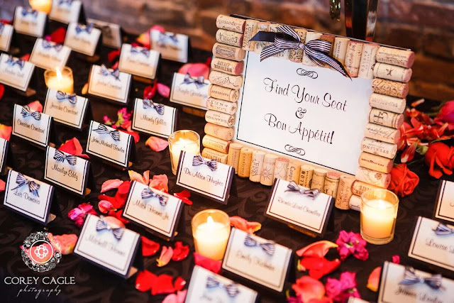 place card table | Corey Cagle Photography