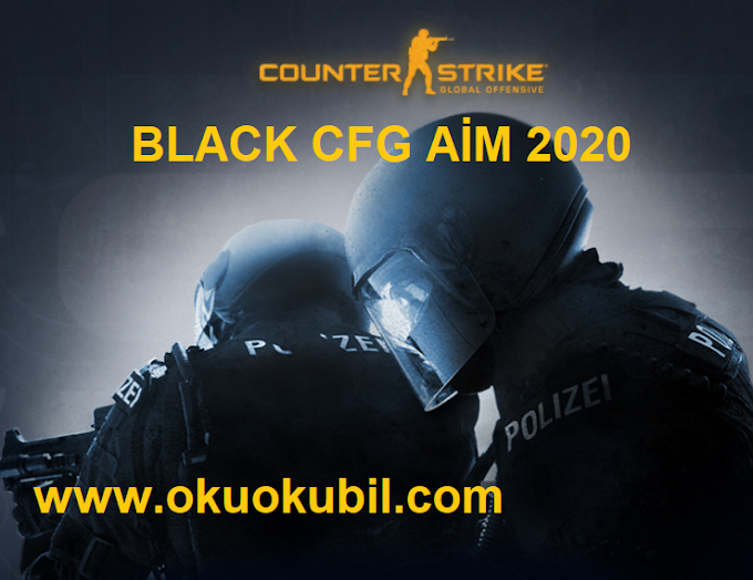 Counter Strike 1.6 Black CFG AİM İndir Mart 2020