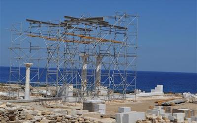 Δεσποτικό: Ανακαλύφθηκε συγκρότημα κτηρίων δίπλα στον Ναό του Απόλλωνα