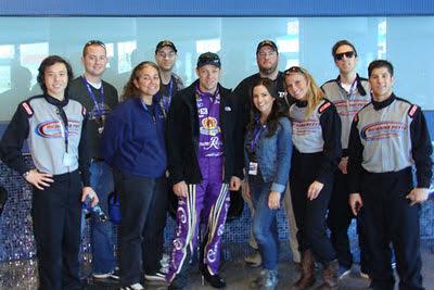 #NASCAR Race Mom working with Matt Kenseth