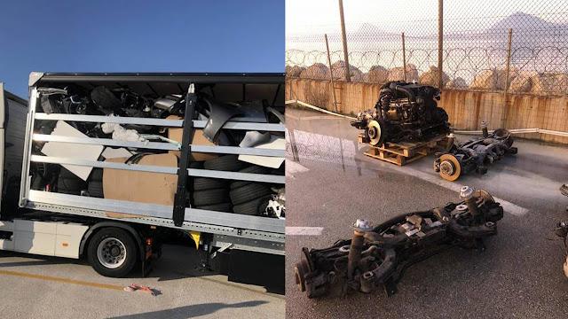 Αιρετός της Αργολίδας εμπλέκεται στην υπόθεση της νταλίκας με τα κλεμμένα ανταλλακτικά αυτοκινήτων