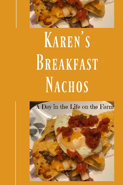Breakfast Nachos pin