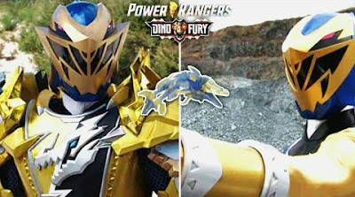 Power Rangers Dino Fury - Gold Ranger Debut Clip