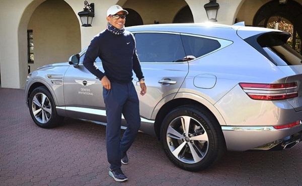 Genesis GV80 Tiger Woods
