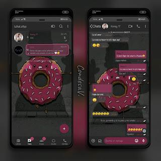Donut Homero Theme For YOWhatsApp & Mn WhatsApp By Ethel
