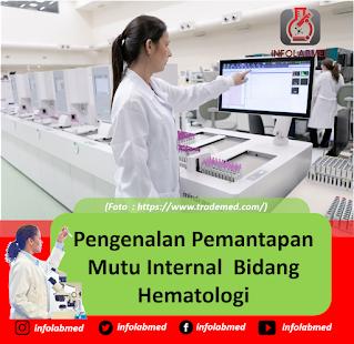 Pengenalan Pemantapan Mutu Internal  Bidang Hematologi