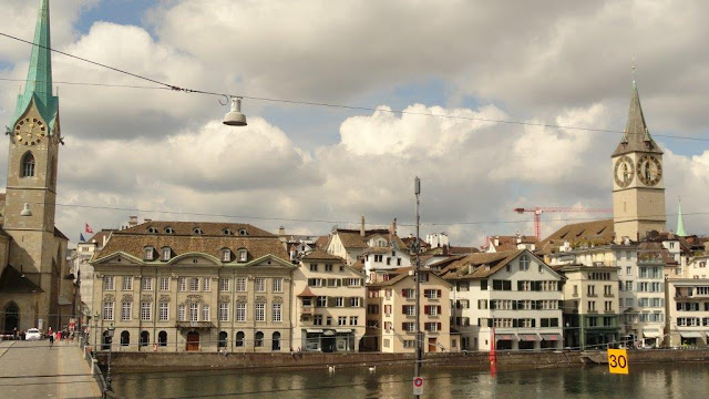On lake Zurich