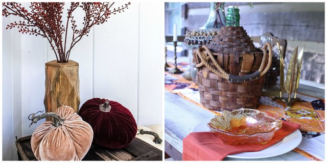 Fall Porch ideas Collage