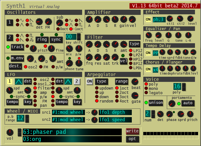 Synth 1