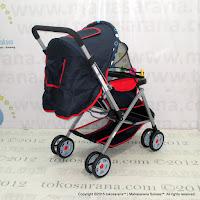 Kereta Bayi Junior KC001 Luxury Hadap Depan atau Belakang