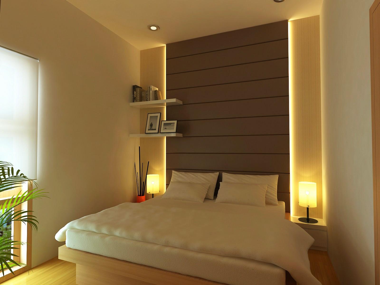 cat kamar tidur minimalis model rumah minimalis terbaru