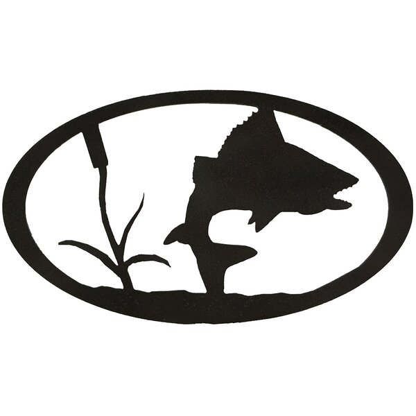 Turning Fish Oval Wall Decor