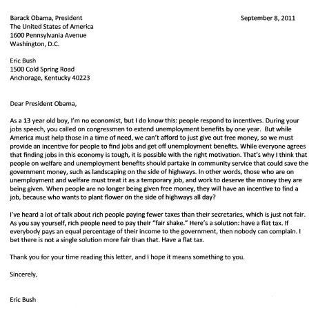 Elephants in the Blue Grass Letter to Obama