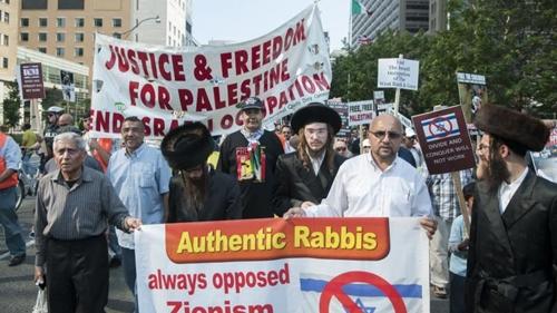 Malu dengan Aksi Israel, Yahudi Ortodoks: Kami Bersamamu Palestina