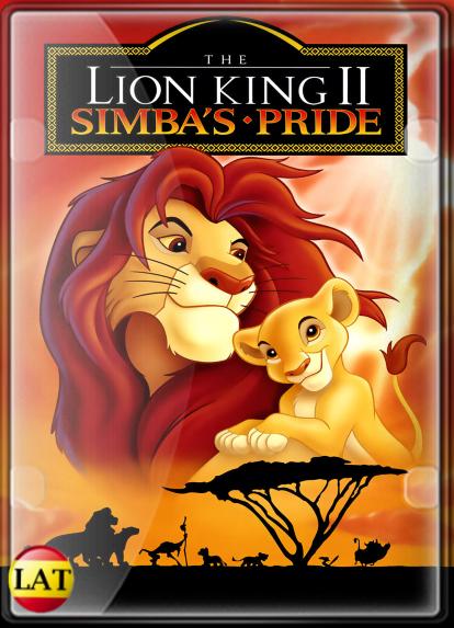El Rey León II: El Reino de Simba (1998) DVDRIP LATINO