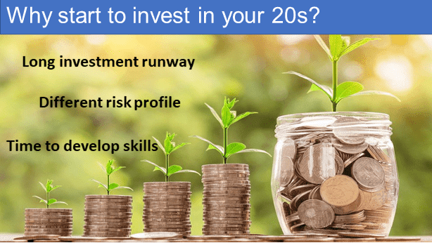 Why start to invest in your 20s?
